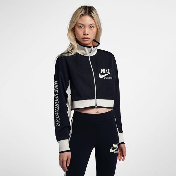 868fc6a855659 Nike Jackets & Coats | Sportswear Archive Cropped Top Track Jacket ...